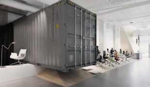 Idee design ufficio: stile industriale