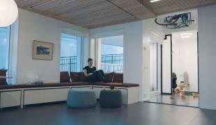 Appartamenti riconfigurabili che permettono di trasformare dinamicamente lo spazio living