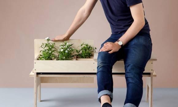 Giardini temporanei all'interno di mobili: ecco l'ultima frontiera del riciclo creativo