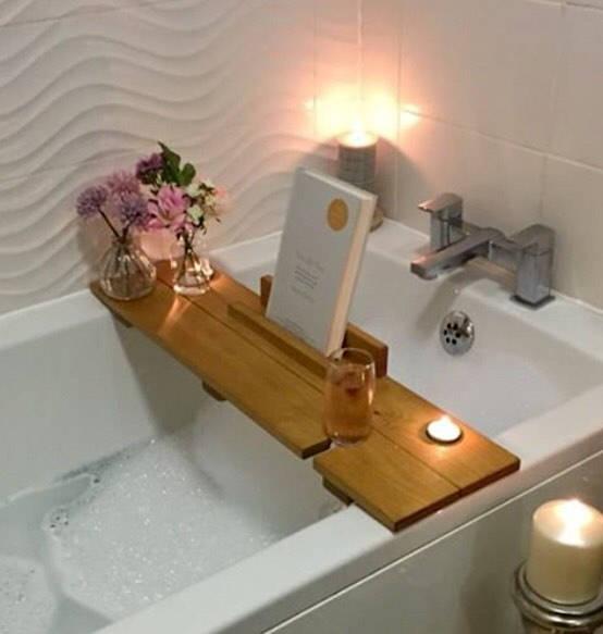 Caddy bagno, mensola da bagno ideale per il relax casalingo