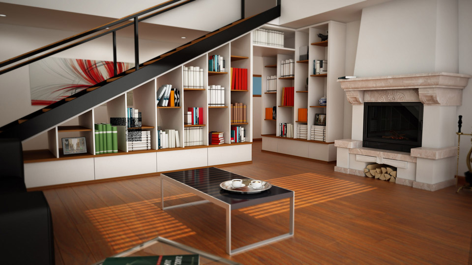 Ben noto Beautiful Cucina Nel Sottoscala Ideas - Design & Ideas 2017 - candp.us LQ72