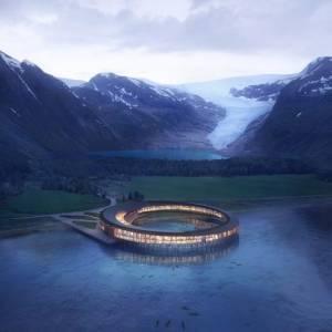 Hotel luxury circolare nell'artico: ecco dove ammirare al meglio le magnifiche aurore boreali
